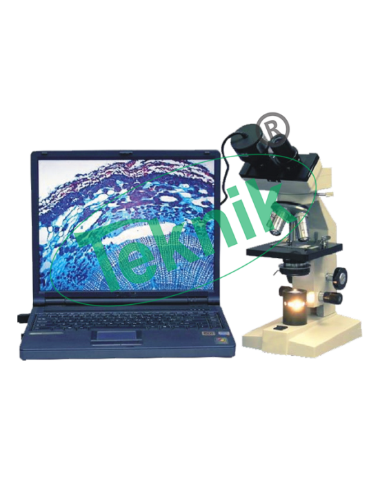 Microscope Equipment : Computer compatible microscope