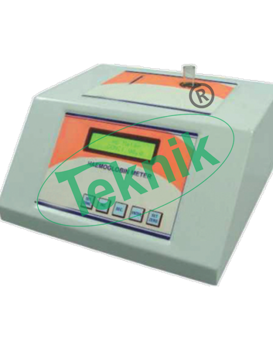 Analytical Instruments: microprocessor hemoglobin meter