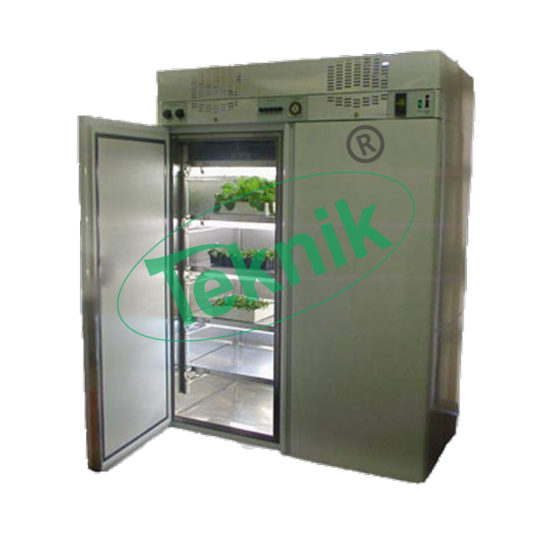 Heat and refrigeration system : Plant growth chamber