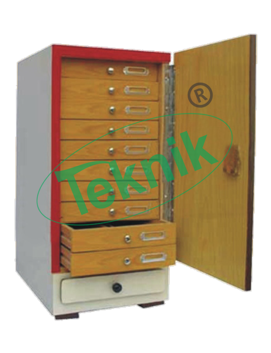PROJECTION SLIDE STORAGE CABINETS-Audio/Visual Equipment