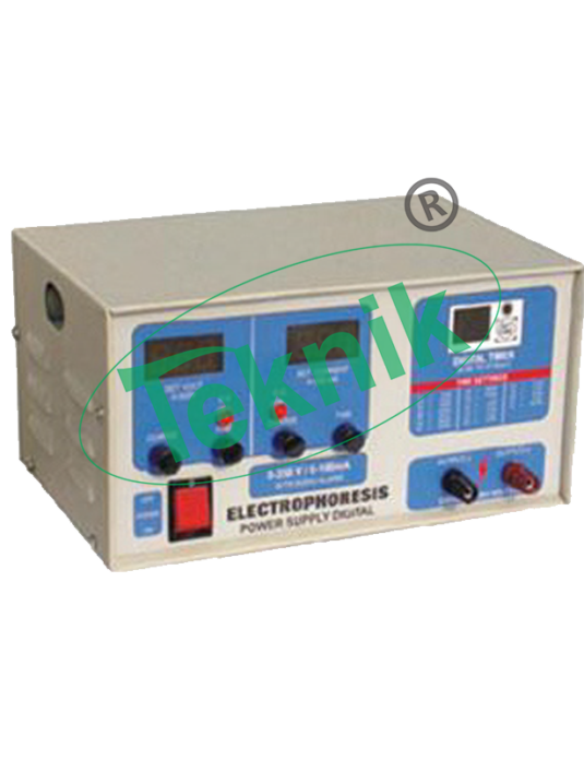 Pharmaceutical Laboratory Equipments : Electrophoresis pwer supply digital