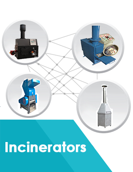 Incinerators : Manufacturer, dealer, exporter, supplier