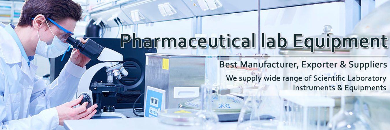 Pharmaceutical Laboratory Instruments manufacturer, exporter, dealer, supplier