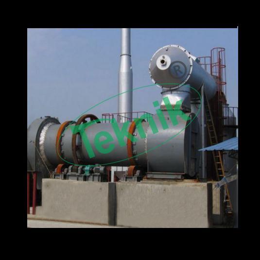 Industrial Incinerator : Rotary Kiln Incinerator