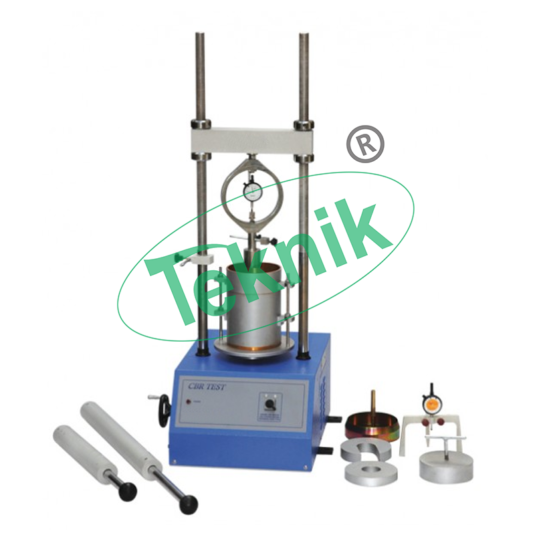 Civil-Engineering-Soil-Testing-Equipment-Laboratory-C.B.R.-Apparatus