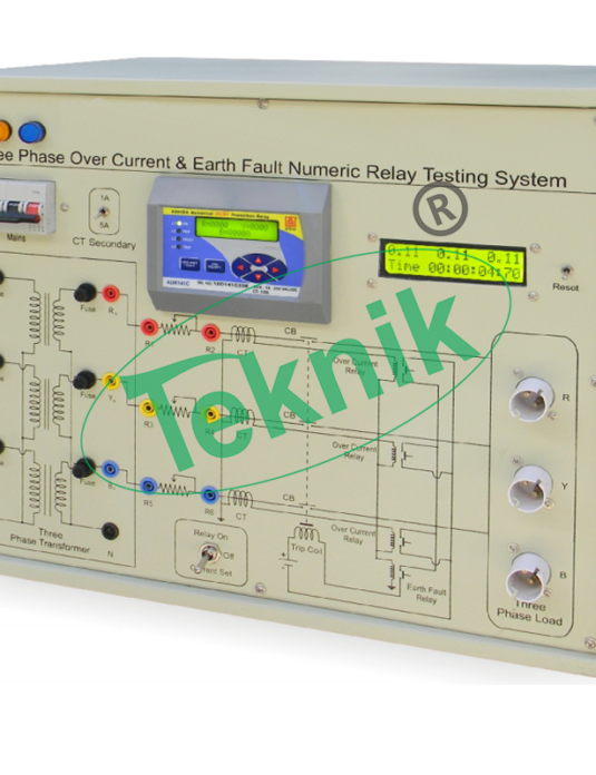 Electrical-Electronics-Engineering-Three-Phase-Over-Current-Earth-Fault-Numeric-Relay-Testing-System