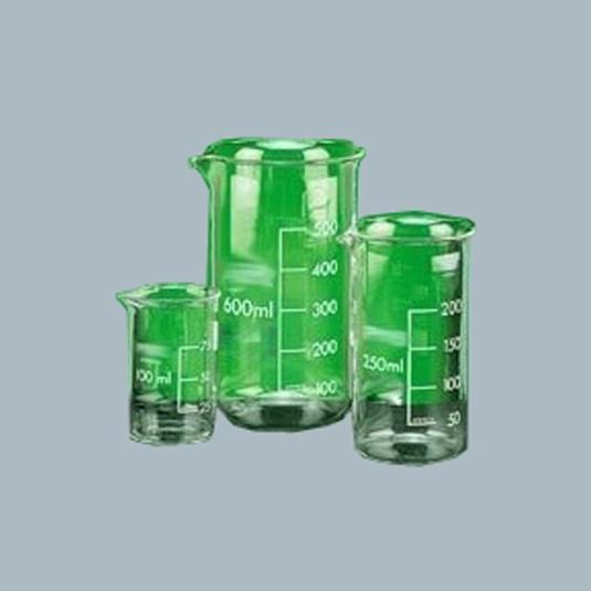 Laboratory-Glassware-Beaker-Tall-form-with-graduation