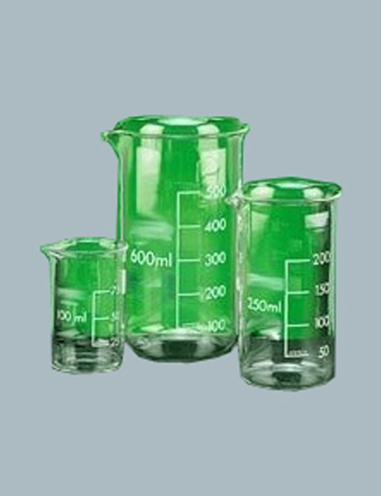 Laboratory-Glassware-Beaker-Tall-form-with-graduation