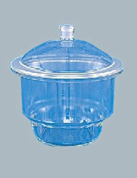 Laboratory-Glassware-Dessicator-with-Lid-Plain-Die-pressed