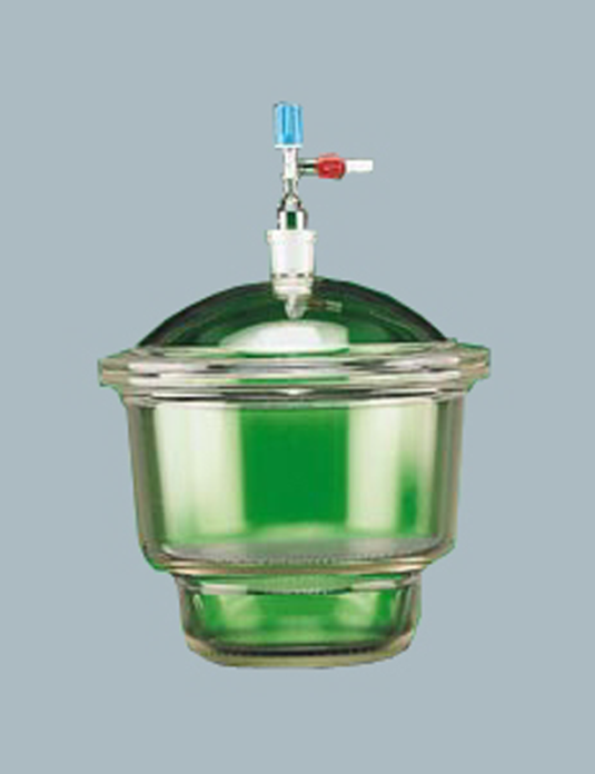 Laboratory-Glassware-Dessicator-with-Lid-Vacuum-Die-pressed-Neutral-Glass