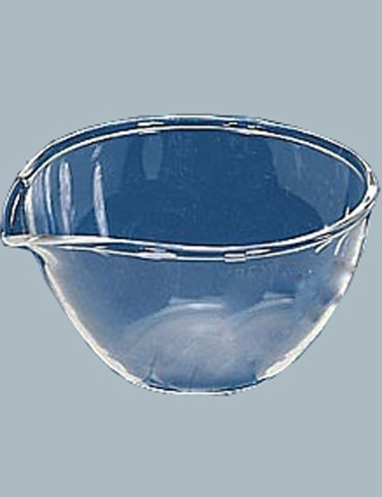 Laboratory-Glassware-Dishes-Evaporating-Flat-Bottom-with-Pour-Out