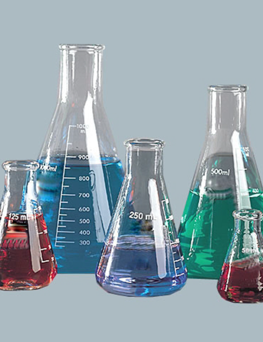 Laboratory-Glassware-Erlenmeyer-Flasks-Wide-Neck-with-graduation