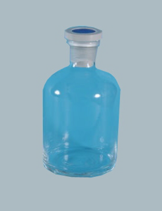 Laboratory-Glassware-Reagent-Bottle-Narrow-Mouth-with-Polyproplene-Stopper