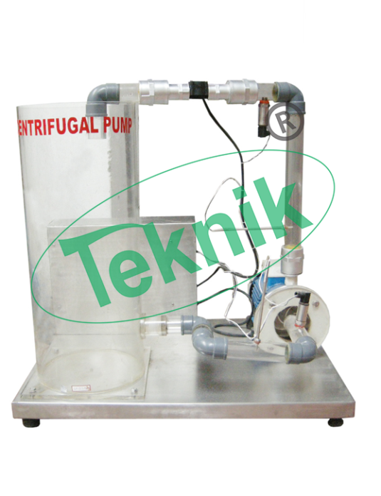 Machenical-Engineering-Fluid-Machenics-Centrifugal-Pump-Demonstration-Unit