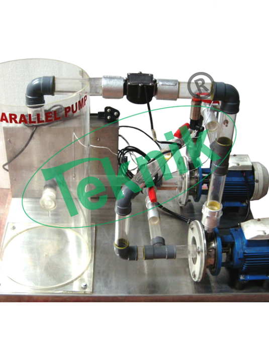 Machenical-Engineering-Fluid-Machenics-Series-And-Parallel-Pumps-Demonstration-Unit