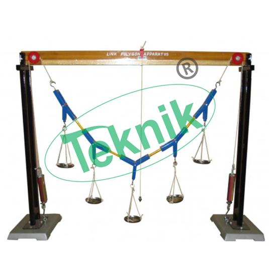 Mechanical-Engineering-Equipment-Applied-Mechanics-Combined-Link-Polygon-Apparatus