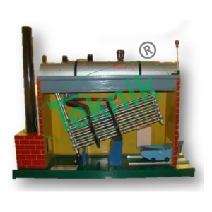 MODEL OF BABCOCK AND WILCOX BOILER