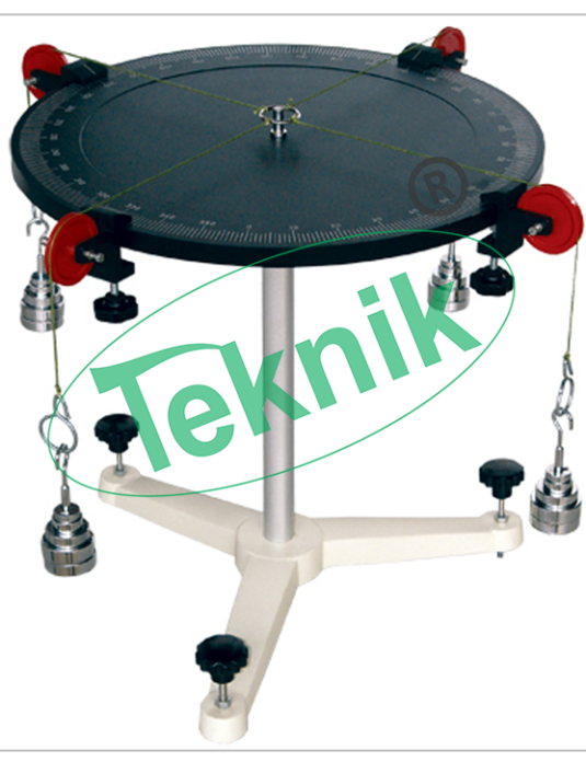 Mechanical-Engineering-Equipment-Applied-Mechanics-Universal-Force-Table