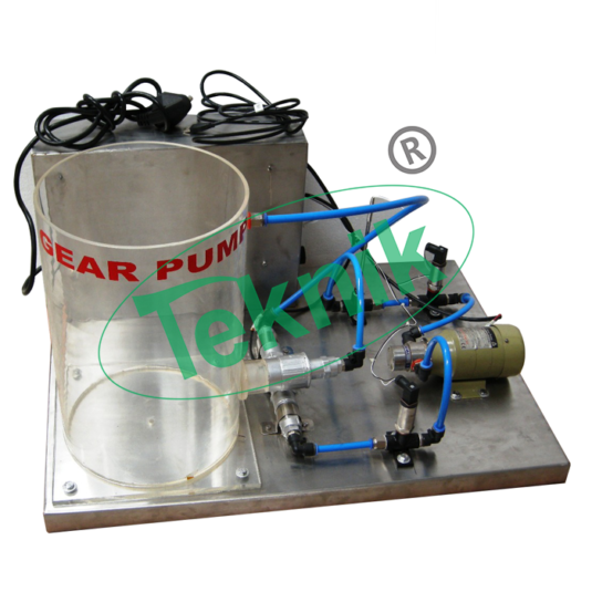 Mechanical-Engineering-Fluid-Mechanics-Gear-Pump-Demonstration-Unit