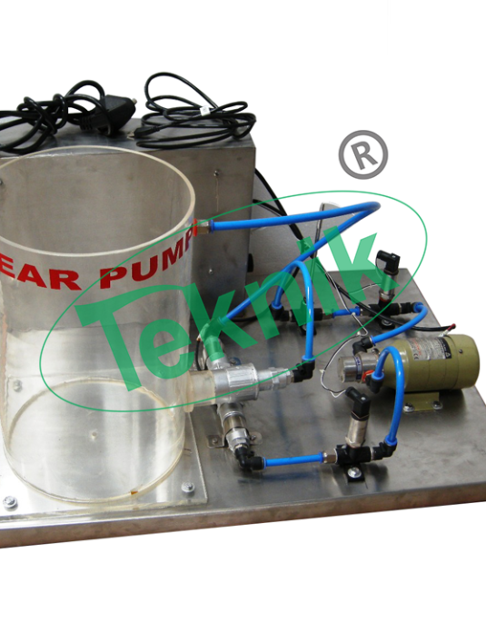 Mechanical-Engineering-Fluid-Mechanics-Gear-Pump-Demonstration-Unit