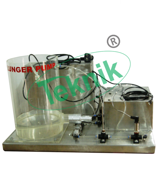 Mechanical-Engineering-Fluid-Mechanics-Plunger-Pump-Demonstration-Unit