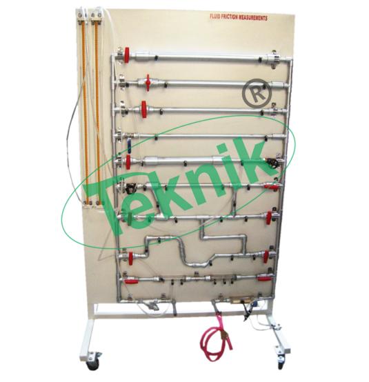 Mechanical-Engineering-Fluid-Mechnics-equipment-Fluid-Friction-Measurements