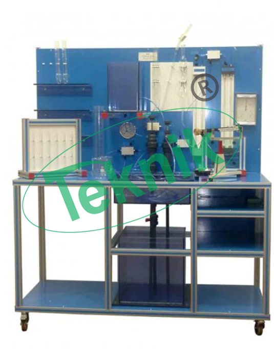 Mechanical-Engineering-Fluid-Mechnics-equipment-Fluid Properties-and-Hydrostatics-Bench