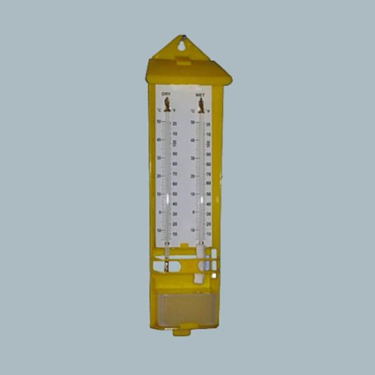 laboratory-glassware-Wet-&-Dry-Thermometer-Plastic-Body