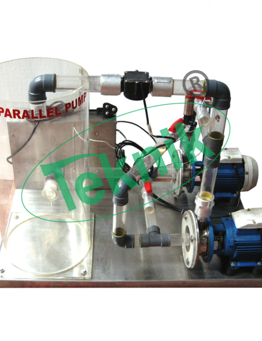 Mechanical-Engineering-Fluid-Mechnics-equipment-Series-Parallel-Pumps