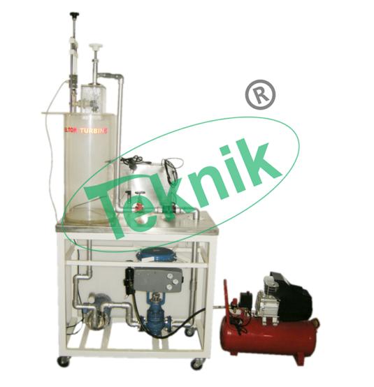 Mechanical-Engineering-Fluid-Mechnics-equipment-pelton-turbine