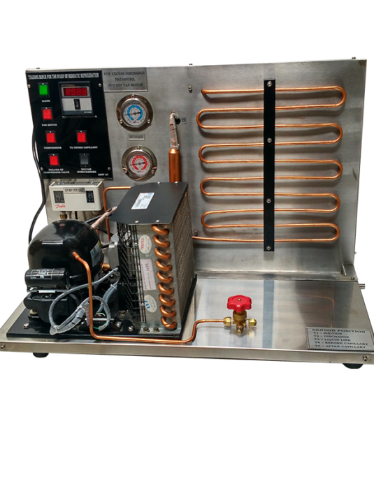 Training Bench for the Study of Hermatic Refrigeration