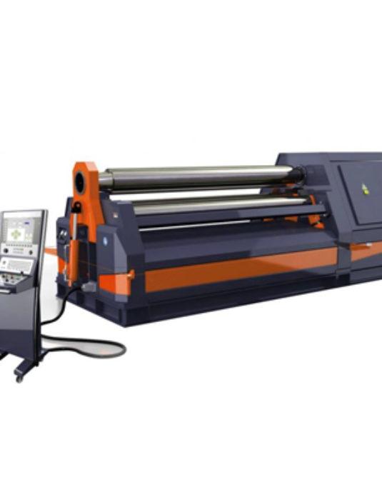 hydraulic cnc plate rolling machine
