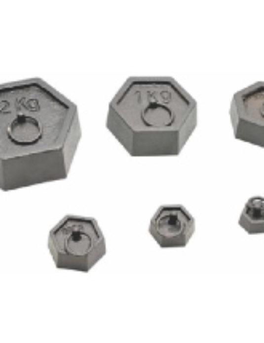 Cast-Iron-Hexagonal-Masses-Set