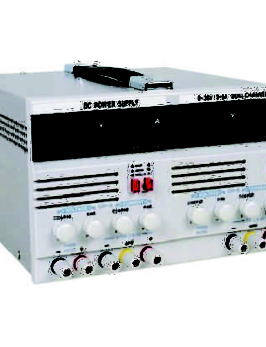 DC-Regulated-Power-Supply -(Dual-Channel)