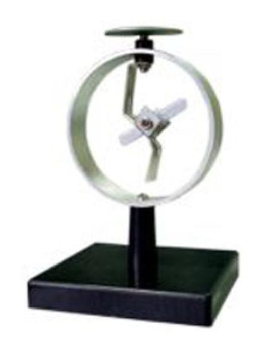 Electroscope-(Circular-Metal-Case)